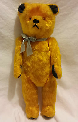 "15"" Excellent QualityJointed Golden Colored Japanese Carnival  Style Teddy Bear"