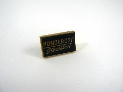 Vintage Collectible Pin: Ponderosa Steakhouse