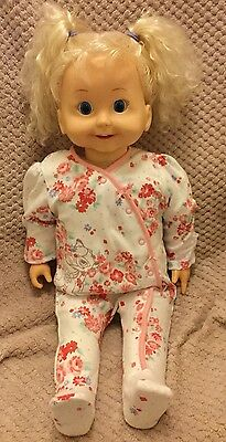 Playmates 1985 Vintage Cricket Doll, Cassette Playing Doll