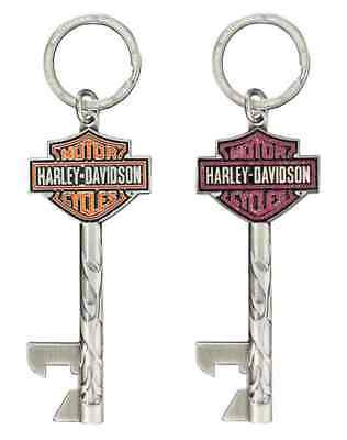 Harley-Davidson His & Hers Bar & Shield Keys Bottle Opener Keychain Set KY20106