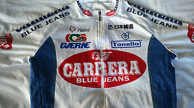 Vintage Carrera cycling jersey 1996