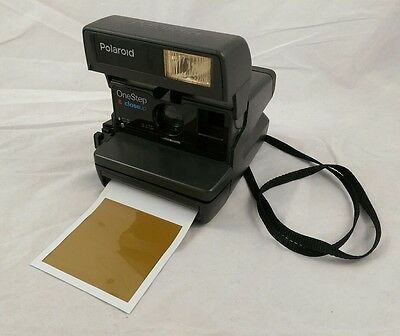 FULLY TESTED! Polaroid One Step Close Up 600 Instant Film Camera VG!