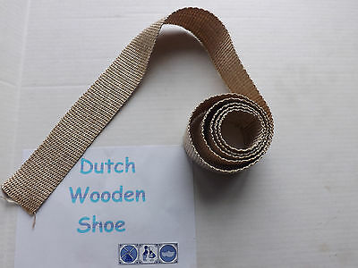 20 FEET STOVE GLASS SEAL TAPE FIRE ROPE GASKET WOOD COAL  PELLET STOVE