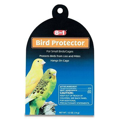 8In1 Bird Protector Small Mite & Lice 8 In 1 Wild All Bird. Free Ship To The Usa