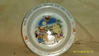 A Vintage Avon Child's Bowl Dated 1984 (Mint) The Cow Jumped Over The Moon
