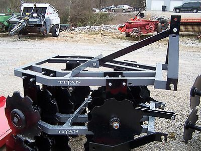 New 12x16 Titan 4 1/2 ft. (3 point)  Disc Harrow *We Can Ship, Ask for a Quote