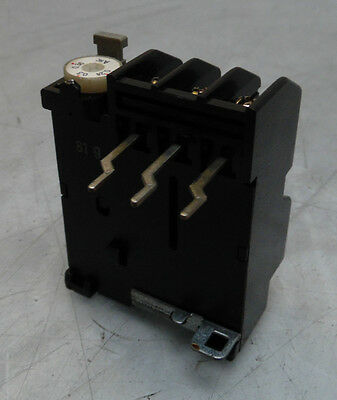 Fuji Electric Overload Relay, # TR-0/3, 0.24-0.36 A Range, Used, Warranty