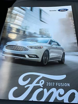 2017 Ford Fusion 36-page Original Sales Brochure
