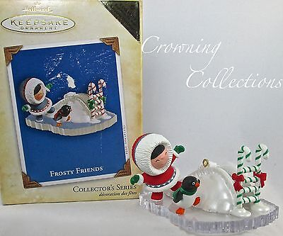 2004 Hallmark Frosty Friends Repaint Colorway Keepsake Ornament Register to Win