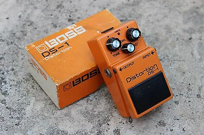 1980 Boss DS-1 Distortion MIJ Japan Vintage Effects Pedal w/Box
