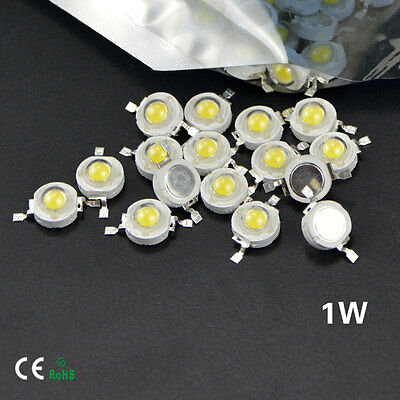 3pcs High Power Epistar SMD Chip 1W LED Bulb Diode Lamp Bead
