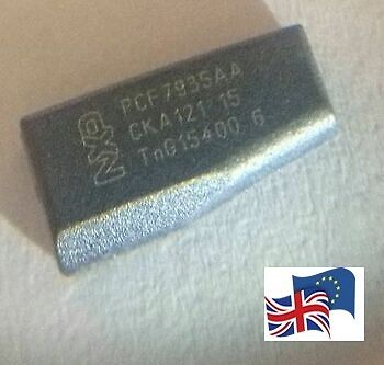 NEW Virgin Transponder ID40 T12 Key Chip for Vauxhall - Opel