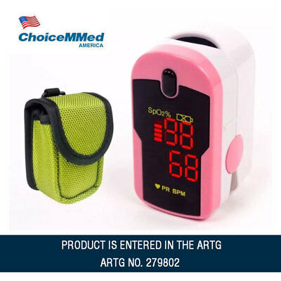 Fingertip Pulse Oximeter MD300C12 Blood Oxygen Saturation Monitor with CarryCase