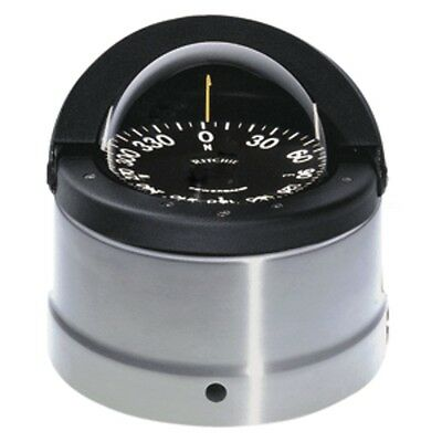 Ritchie DNP-200 Navigator Compass - Binnacle Mount - Polished Stainless Steel/Bl