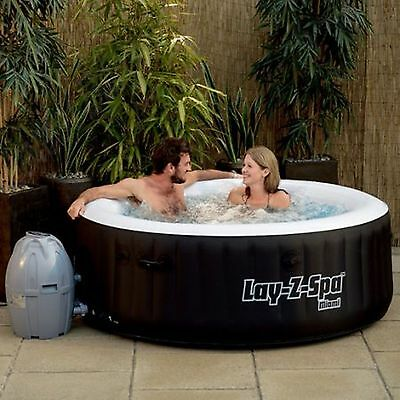 NEW Bestway Portable LAY-Z SPA Inflatable Hot Tub Massage Bath Pool 4 Person