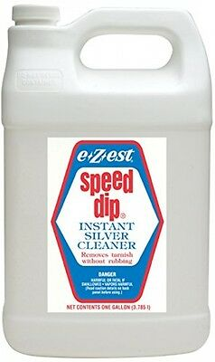 """Speed Dip Instant Silver Cleaner Tarnish Remover """"Free Shipping"""""""