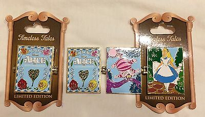 ALICE IN WONDERLAND Timeless Tales Pin LE 3000 Cheshire Cat Disneyland