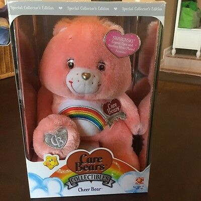 Care Bears collectibles collectors edition cheer bear with Swarovski eyes
