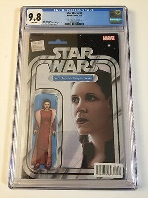 Star Wars 19 Leia Gown Action Figure Cover CGC 9.8