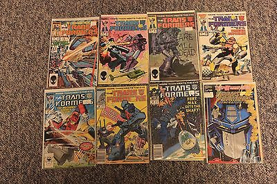 Transformers G1 Marvel comic lot #'s - 4, 5, 6, 19, 28, 32, 38, 29 and G2 #1