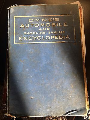 Dyke's Automobile and Gasoline Engine Encyclopedia (1931)