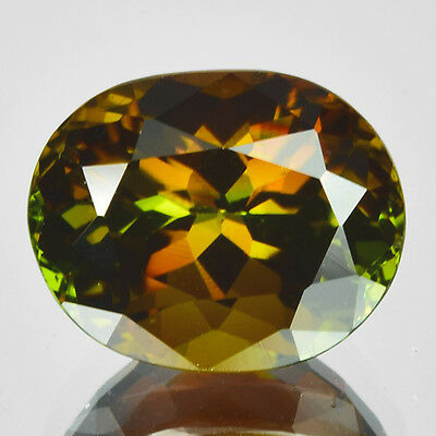 1.49Ct World Class Best Grade Gem ~ Amazing Multi-Color Flash Natural ANDALUSITE