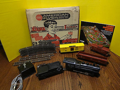 American Flyer Freight Electric Train Set S Gauge No. 20705 ***fast S/h***