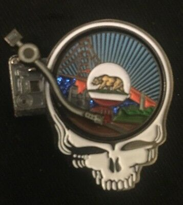Grateful Dead-Steal Your Vinyl Pin Limited Edition Sold Out