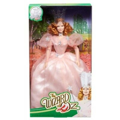 The Wizard Of Oz Glinda The Good Witch Barbie Doll 75Th Anniversary Mattel W/coa