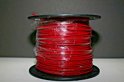 THHN 14 AWG Stranded Copper Wire 500' Red