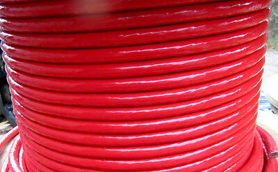 THHN THWN-2 #4 AWG STRANDED COPPER WIRE 25' Red
