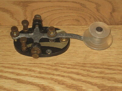 Antique Morse Code Telegraph Key Sounder