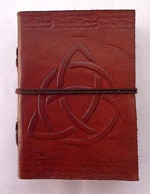 Vintage Classic Brown Real Leather  Journal Handmade Notebook Diary