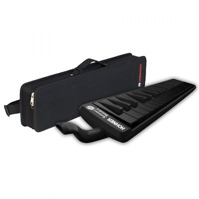 Keyboard Harmonica All Black HOHNER Superforce 37 MELODICA Japan + Tracking Num