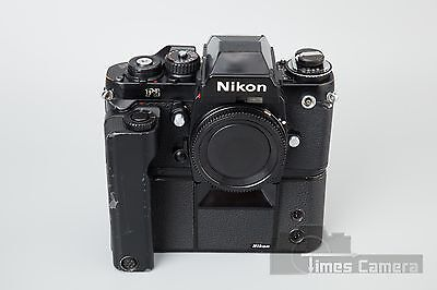 Nikon F3 HP 35mm Film Camera w/ MD-4 Motor Drive