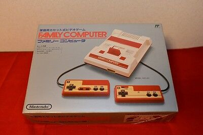 New Family Computer FC Console System Nintendo Famicom JAPAN Free Shipping