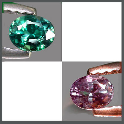 0.34Cts CERTIFIED Gem - Rare Natural Green 2 Purple COLOR CHANGE ALEXANDRITE LG5