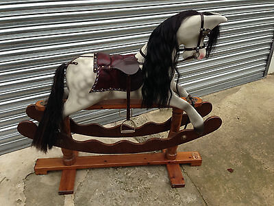 Traditional Wooden Rocking Horse Handmade by Ian Armstrong