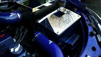 *NEW* Ford Focus Mk1 RS ST 170 ZETEC polished stainless steel battery cover