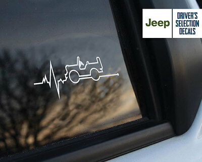 Jeep is in my Blood Wrangler window sticker decals graphic