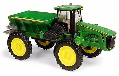 2010 John Deere 4930 Dry Box Spreader With A Green Dry Box Scale 1/64 Diecast