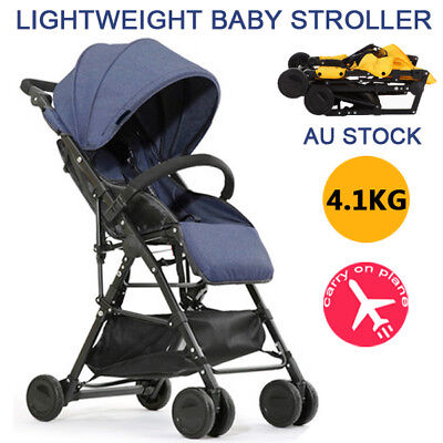 BABYCORE Compact Lightweight Fold Baby Stroller Pram Kids Pushchair Travel