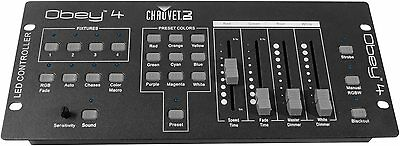 Chauvet Obey 4 Compact DMX Controller for LED Wash Lights 4 Channels Effects