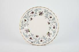 Royal Stafford Fine Bone China Side Plate in Purple 'Enchanting' design