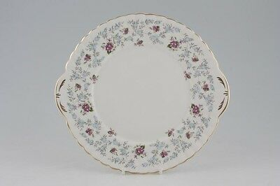 Royal Stafford Fine Bone China Cake Plate in Purple 'Enchanting' design