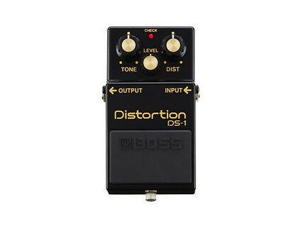 Boss DS-1 4A 40th Anniversary Distortion Electric Guitar Effects Pedal
