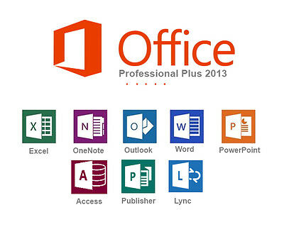 Microsoft Office Professional Plus 2013 OEM Key & Download link Online Delivery