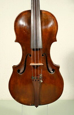 Very interesting and good sounding 18th century violin, ready to play