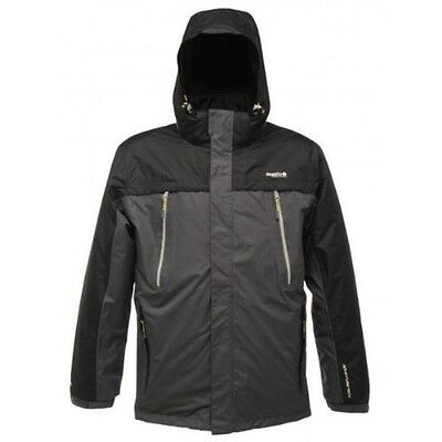 Regatta Highstand Mens Waterproof Breathable Isotex 5000 3in1 Jacket Grey S