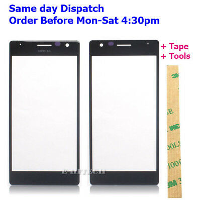LCD Front Outer Glass Touch Screen Lens For Nokia Lumia 730 735  N730 with Tools